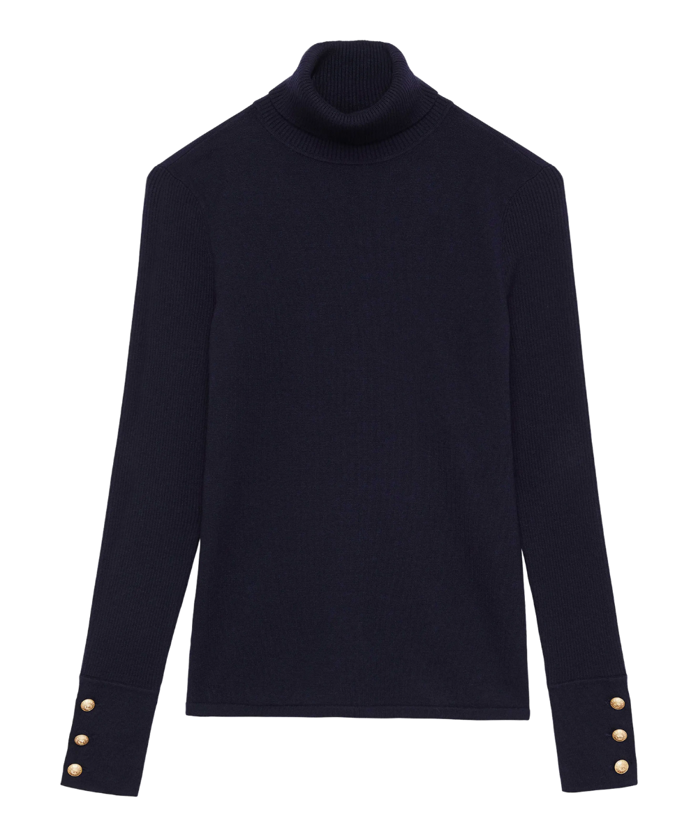 odette sweater navy l'agence