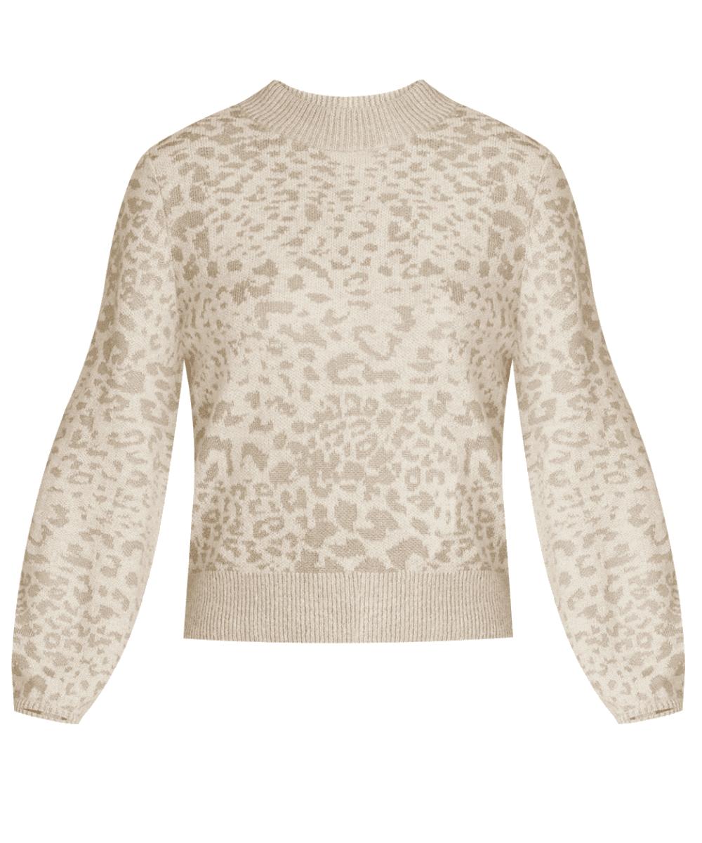 tilda sweater leopard veronica beard
