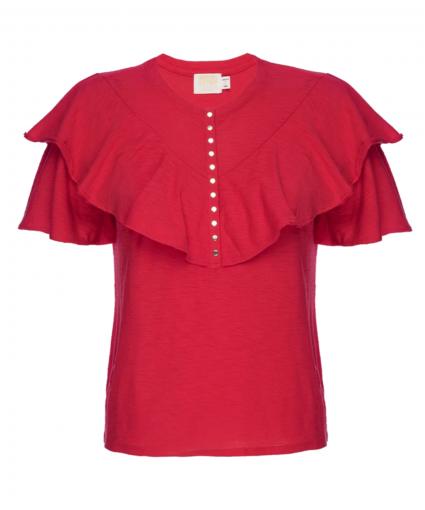 vivienne tee t-shirt campari red nation ltd