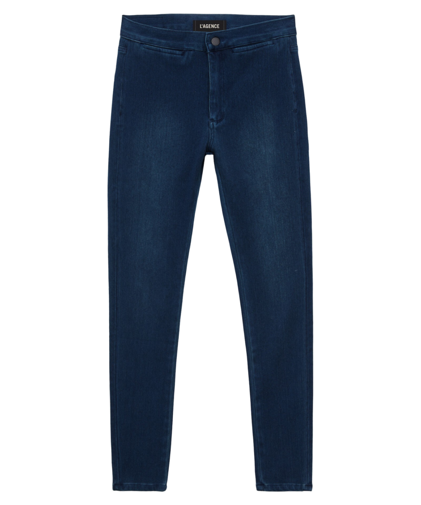 l'agence yasmeen high rise skinny jean river blue