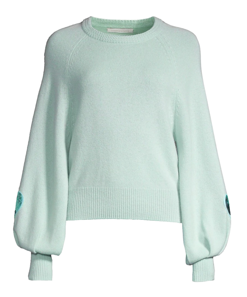 ashland sweater seafoam loveshackfancy