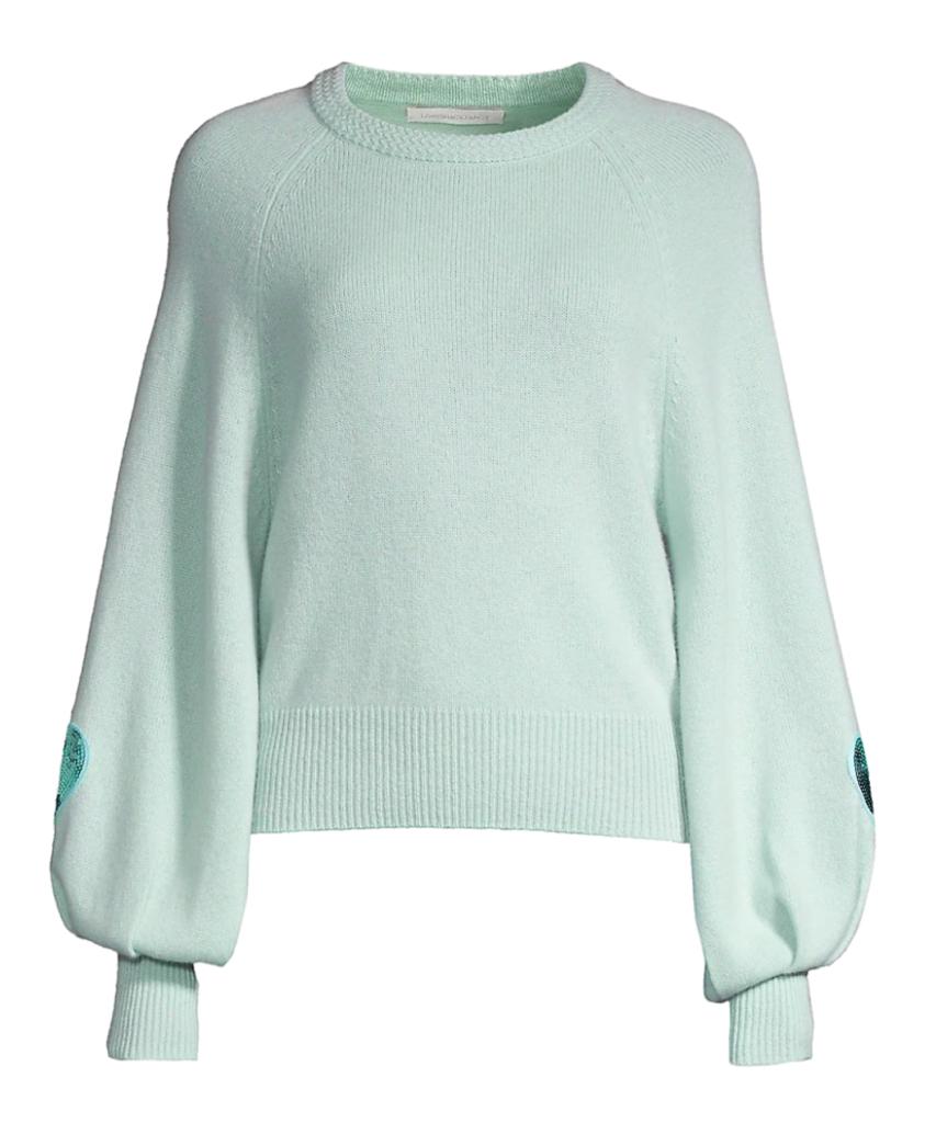 ashland sweater seafoam loveshackfancy