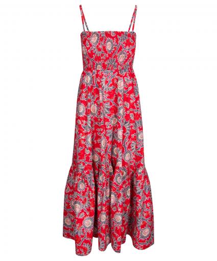 austyn dress apple red pink alc