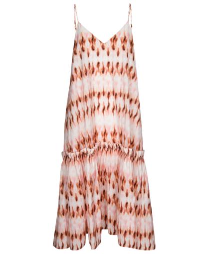 colette dress pink mojave alc