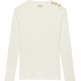 erica sweater ivory l'agence