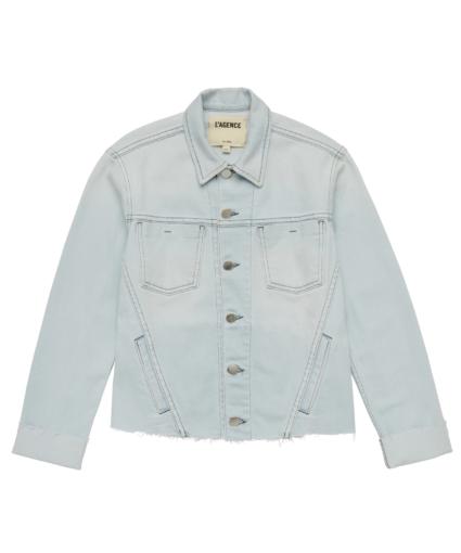 janelle jean jacket bleach down l'agence