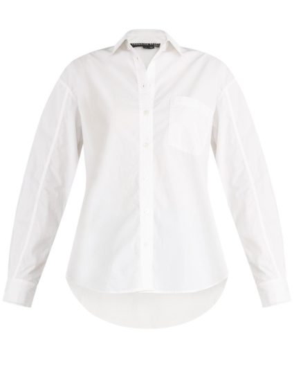 keiko shirt white veronica beard