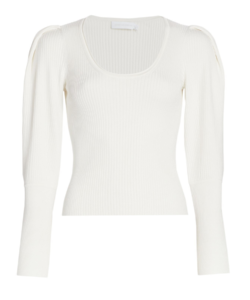 mila sweater white jonathan simkhai