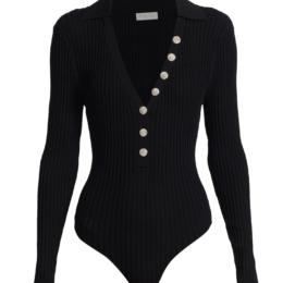 tasmine bodysuit black ronny kobo