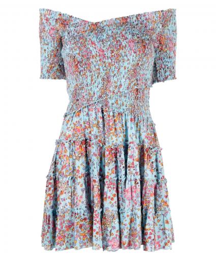Mini Soledad Dress Sky Blue Murrina Poupette St. Barth