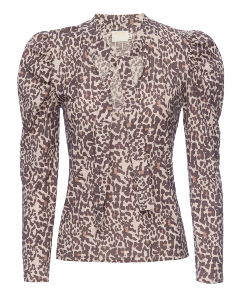 evette top antique leopard nation ltd