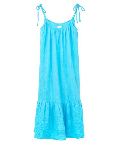 lilou dress turquoise honorine