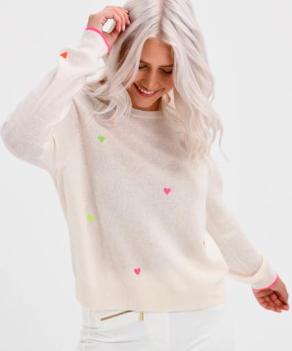 pia hearts sweater brodie cashmere