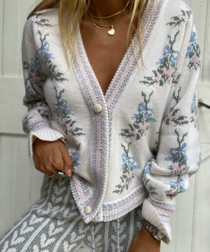 boscom cardigan dew drop loveshackfancy