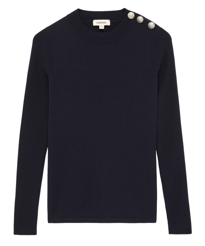 erica sweater navy l'agence