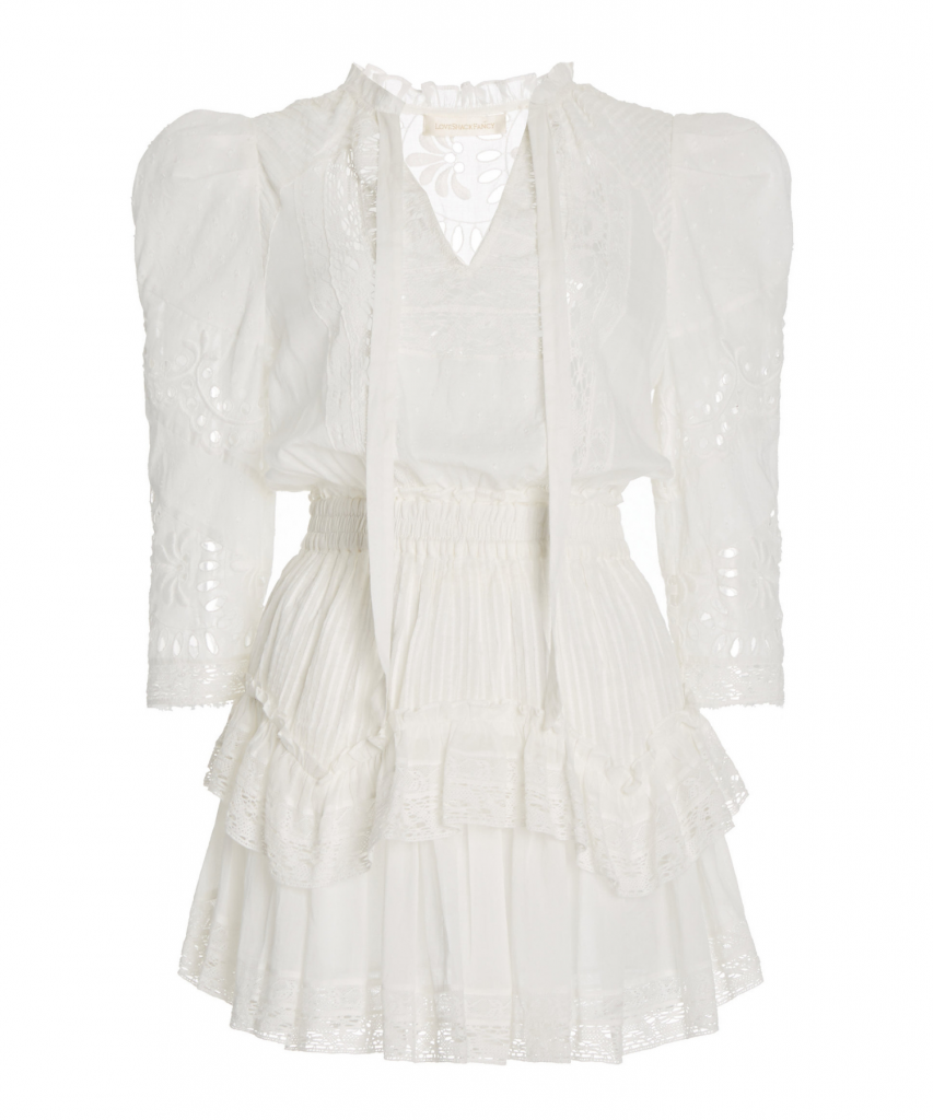 isidore dress white loveshackfancy