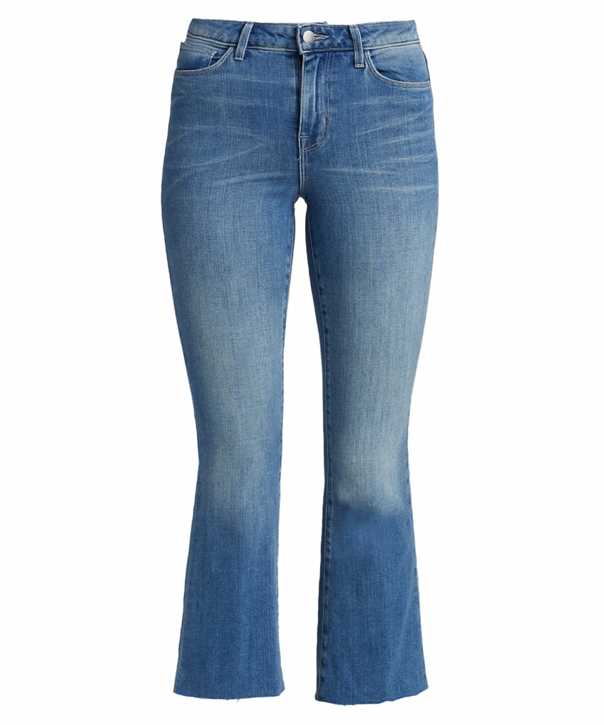 kendra cropped flare jean lancaster l'agence