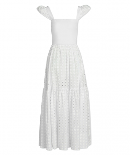 alilah dress white tanya taylor
