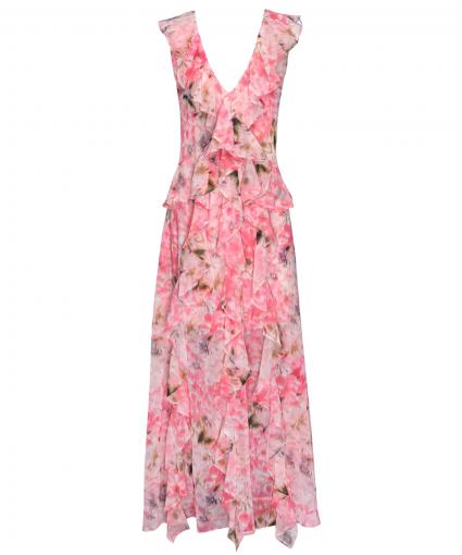 claudita dress taza floral misa