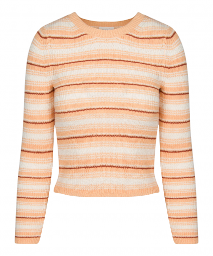 milo sweater almond butter white deep amber alc