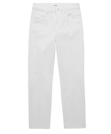 sada straight jean blanc l'agence