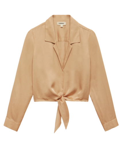 annie blouse candied ginger l'agence