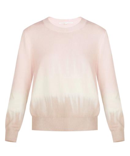 nikasha sweater pink ivory khaki veroncia beard