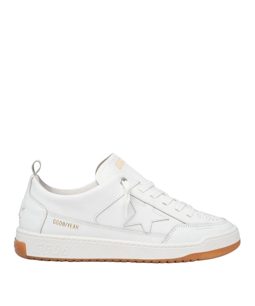 yeah low top sneaker optic white golden goose